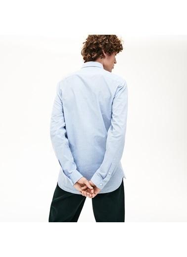 Lacoste Erkek Slim Fit Gömlek CH9668.58M Mavi